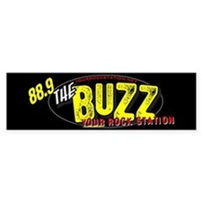 88.9 The Buzz Bumper Bumper Sticker