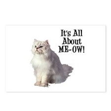ME-OW Persian Cat Postcards (Package of 8)