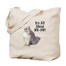ME-OW Persian Cat Tote Bag