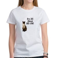 ME-OW Siamese Cat Women's T-Shirt