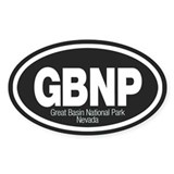 Great Basin National Park Oval Decal