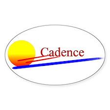 Cadence Oval Decal