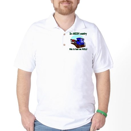 How We Roll Golf Shirt