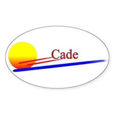 Cade Oval Decal