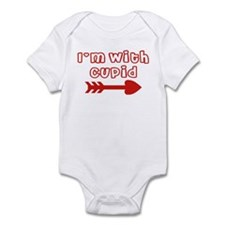 I'm With Cupid (Arrow Right) Infant Bodysuit