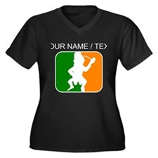 Custom Leprechaun League Plus Size T-Shirt