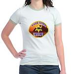 Malibu Sheriff Jr. Ringer T-Shirt