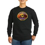 Malibu Sheriff Long Sleeve Dark T-Shirt