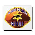 Malibu Sheriff Mousepad