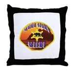 Malibu Sheriff Throw Pillow