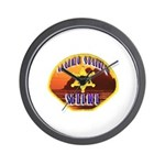 Malibu Sheriff Wall Clock