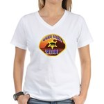 Malibu Sheriff Women's V-Neck T-Shirt