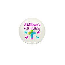 REJOICING 60TH Mini Button (10 pack)