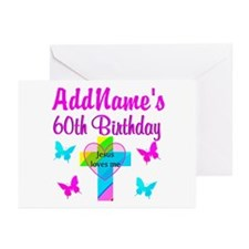 REJOICING 60TH Greeting Cards (Pk of 20)