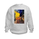 Cafe / Choc. Lab #11 Kids Sweatshirt
