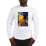 Cafe / Choc. Lab #11 Long Sleeve T-Shirt