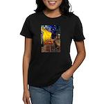 Cafe / Choc. Lab #11 Women's Dark T-Shirt