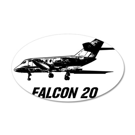 falcon20 35x21 Oval Wall Decal