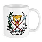 Zaire Coat of Arms Small Mugs