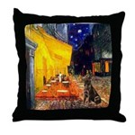 Cafe / Choc. Lab #11 Throw Pillow