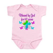 BLESSED 60TH Infant Bodysuit
