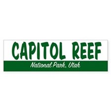 Capitol Reef National Park Bumper Bumper Sticker