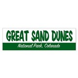 Great Sand Dunes National Park Bumper Bumper Sticker