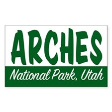 Arches National Park Rectangle Decal