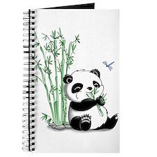 Panda Eating Bamboo Journal
