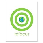 Refocus Small Poster