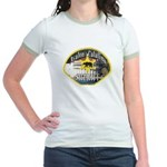 Avalon Catalina Sheriff Jr. Ringer T-Shirt