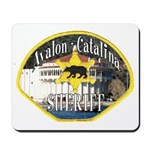 Avalon Catalina Sheriff Mousepad