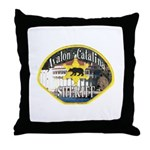Avalon Catalina Sheriff Throw Pillow