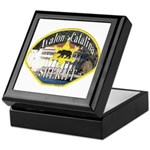 Avalon Catalina Sheriff Keepsake Box