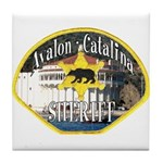 Avalon Catalina Sheriff Tile Coaster