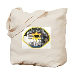 Avalon Catalina Sheriff Tote Bag