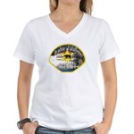 Avalon Catalina Sheriff Women's V-Neck T-Shirt