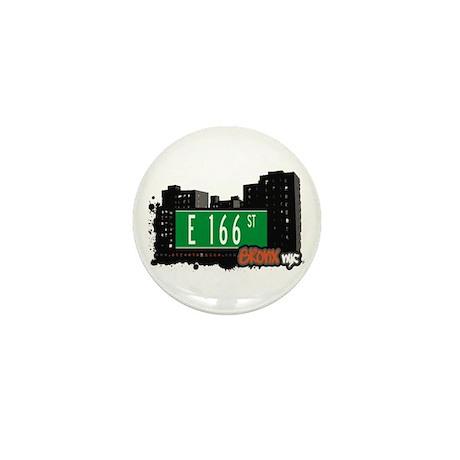 E 166 St, Bronx, NYC Mini Button (10 pack)