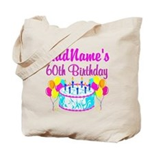 AWESOME 60TH Tote Bag