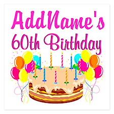 AMAZING 60TH Invitations