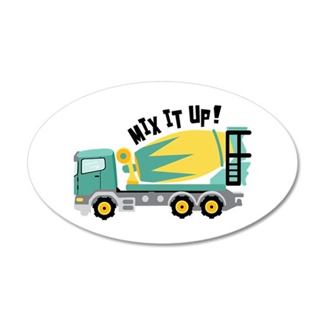MIX IT UP! Wall Decal