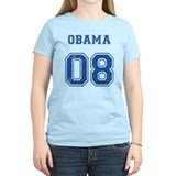 Barack Obama T-shirt (team jersey style)