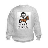 English Horse Riding Sweatshirt