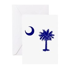 Palmetto and Crescent Greeting Cards (Pk of 10)