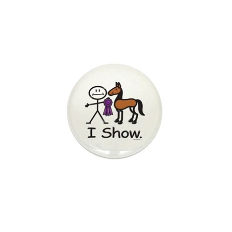 Horse Show Mini Button (100 pack)