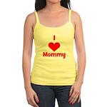 I love (heart) Mommy Jr. Spaghetti Tank