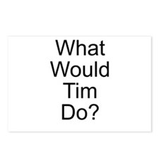 What Would Tim Do? Postcards (Package of 8)