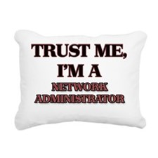 Trust Me, I'm a Network  Rectangular Canvas Pillow