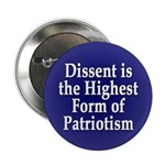 Dissent is Patriotism Button (100 pack)