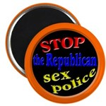 Stop the Republican Sex Police Magnet